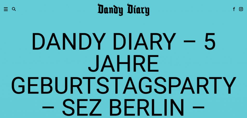 BARTOSZ LUDWINSKI DANDY